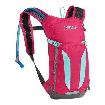 CamelBak Mini M.U.L.E. 50 Oz Hydration Pack - Azalea/Aruba Blue