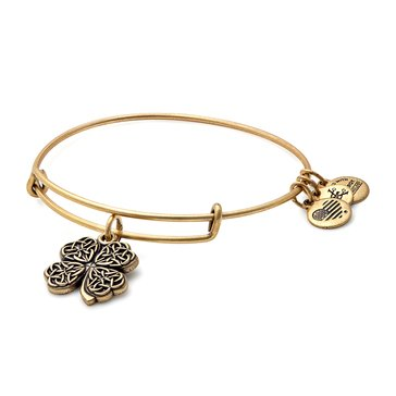 Alex and Ani Four Leaf Clover IV Bangle