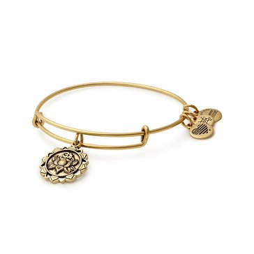 Alex and Ani Lotus Peace Petals Expandable Bangle, Gold Finish