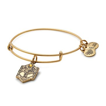Alex and Ani Tree Of Life Expandable Bangle, Gold Finish
