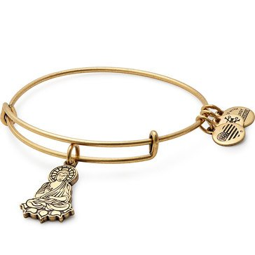 Alex and Ani Buddha II Bangle