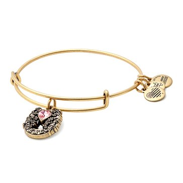 Alex and Ani Fortune's Favor Expandable Bangle, Gold Finish
