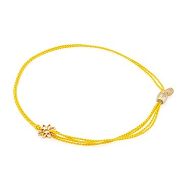 Alex and Ani Kindred Cord, Yellow Daisy