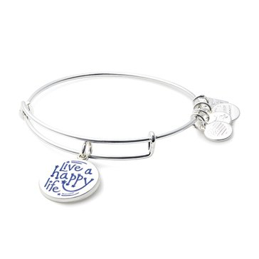 Alex and Ani Charity By Design, Life A Happy Life, Bangle