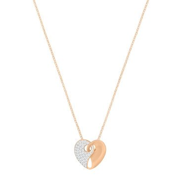 Swarovski Rose Gold Plated Guardian Small Necklace