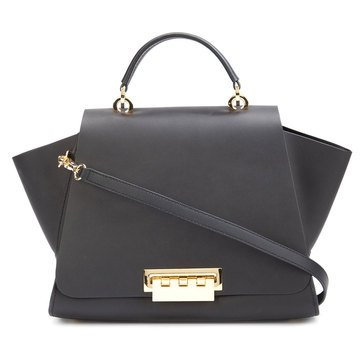 Zac Posen Eartha Iconic Soft Top Handle Black