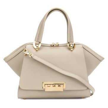 Zac Posen Eartha Iconic Small Double Handle Beige