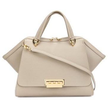 Zac Posen Eartha Iconic Jumbo Double Handle Beige