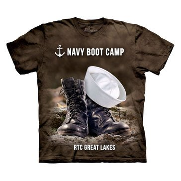The Mountain Men's Navy RTC Great Lakes Bootcamp Short Sleeve Tee
