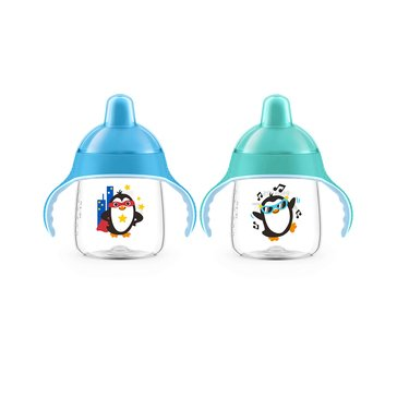 Avent My Penguin Sippy Cup 9ox, 2-Pack