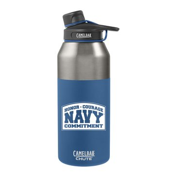 Camelbak Chute 40 Oz. USN Blue Water Bottle