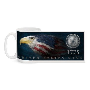 MCM USN Flag Eagle Head El Grande Mug