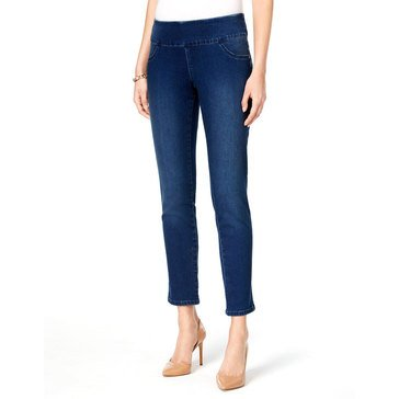 Style & Co Curvy Pull On Pant in Galaxy Wash