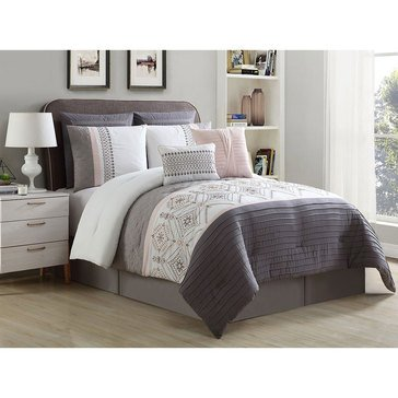 Harbor Home Gold Collection 8-Piece Comforter Set, Phillipe - Queen