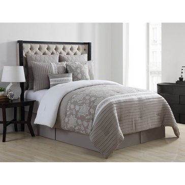 Harbor Home Gold Collection 8-Piece Comforter Set, Rebecca - Queen