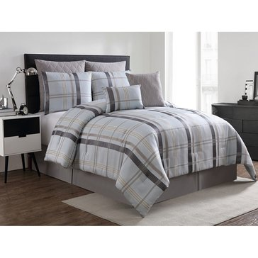 Harbor Home Gold Collection 8-Piece Comforter Set, Maxwell - Queen