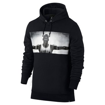Jordan Men's Legend Flite Photo Hooded Top - Black