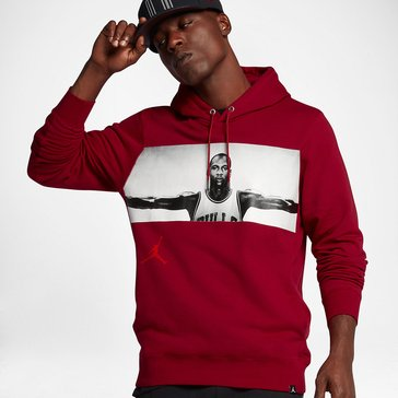 Jordan Men's Legend Elite Photo Hoodie - Red
