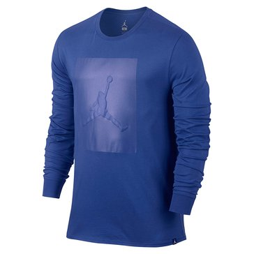 Jordan Men's P-51 Long Sleeve Tee - Royal