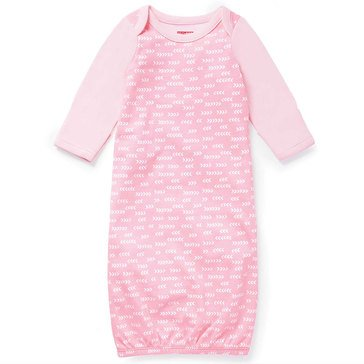 Skip Hop Baby Girls' Gown, Boho Feathers, Pink
