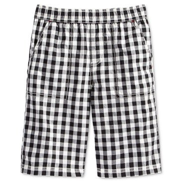Epic Threads Little Boys' Gingham Shorts, Bright White