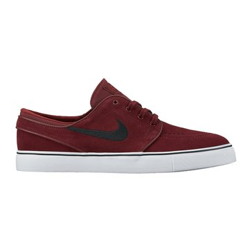 Nike Skate Zoom Stefan Janoski Men's Skate Shoe Dark Team Red/ Black