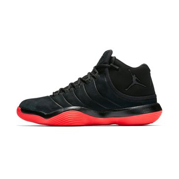 Jordan Lunar Super Fly Men's Basketball Shoe Black/ Black/ Infrared
