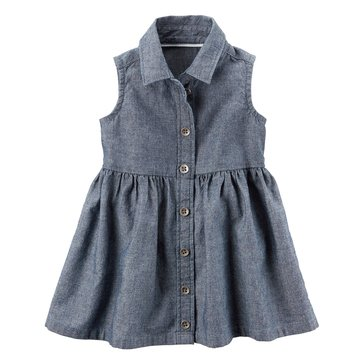 Carter's Baby Girls' Chambray Dress