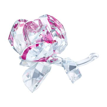 Swarovski Crystal Living Blossoming Rose
