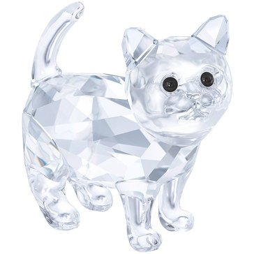Swarovski Crystal Living Baby Cat