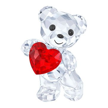 Swarovski Crystal Living Kris Bear A Heart For You
