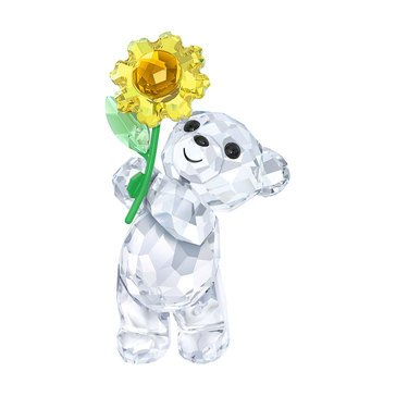 Swarovski Crystal Living Kris Bear A Sunflower For You