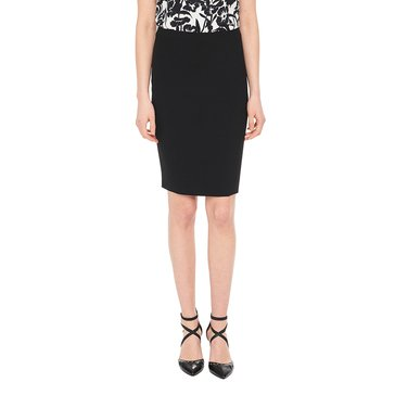 Karl Lagerfeld Triacetate Pencil Skirt in Black