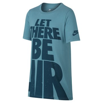 Nike Big Boys' Let There Be Air Tee, Space Blue