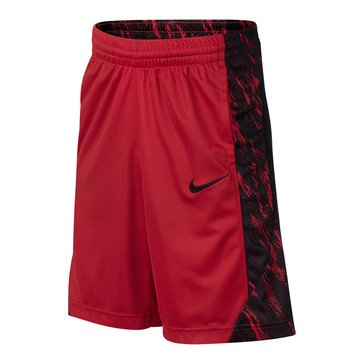 Nike Big Boys' Dry Avalanche GFX Shorts, University Red