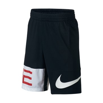 Nike Big Boys' Elite Seasonal Shorts, Black
