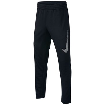 Nike Big Boys' Therma BBall Pant, Black