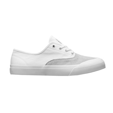 Huf  Cromer Men's Skate Shoe White/ Light Grey