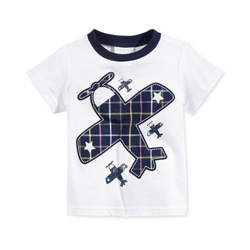 First Impressions Baby Boys' Airplane Tee