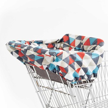 Skip Hop Take Cover Shopping Cart & Highchair Cover - Triangles