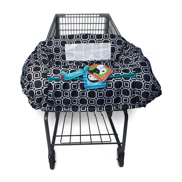 Boppy Shopping Cart Cover, Black & White