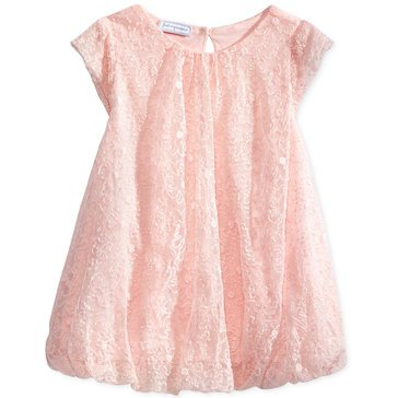 First Impressions Baby Girls' 2-Piece Bubble Dress