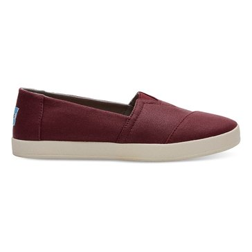 Toms Avalon Women's Slip On Shoe Black Cherry
