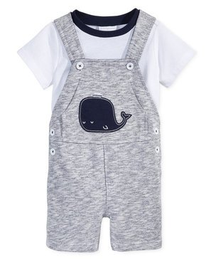 First Impressions Baby Boys' Whale Shortall