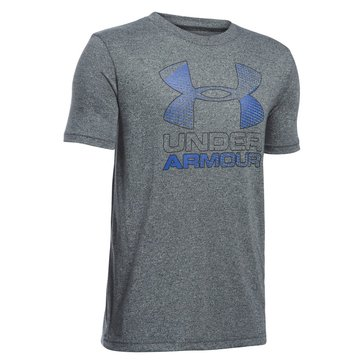 Under Armour Big Boys' Big Logo Hybrid 2.0 Tee