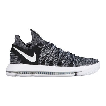 Nike KD X Men's Basketball Shoe Black/ White