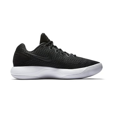 Nike Hyperdunk 2017 Low Men's Basketball Shoe - Black / MetSilver / Anthracite / White