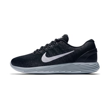 Nike Lunarglide 9 Men's Running Shoe - Black / White / Dark Grey / Wolf Grey