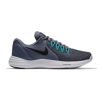 Nike Lunar Apparent Men's Running Shoe - Light Carbon / Black / Clear Jade