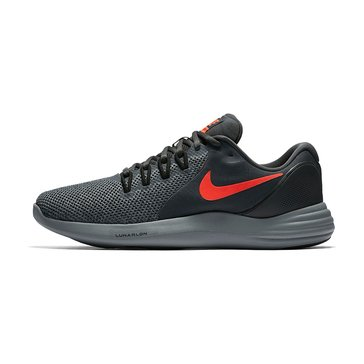 Nike Lunar Apparent Men's Running Shoe - Anthracite / Total Crimson / Black / Cool Grey